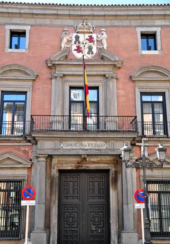 Puerta de acceso al Consejo de Estado